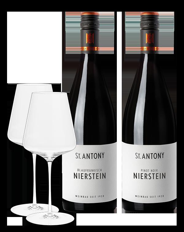 Glas- und Weinpaket Nr. 2
